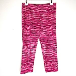 Justice pink variant athletic leggings- 12
